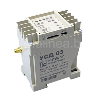 3G/GPRS/GSM-модем УСД-03, 230В, RS-485, RS-232, комплект