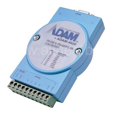 ADAM-4520/4520I. Преобразователь (конвертер) интерфейсов RS-232 в RS-422/RS485 с гальванической изоляцией