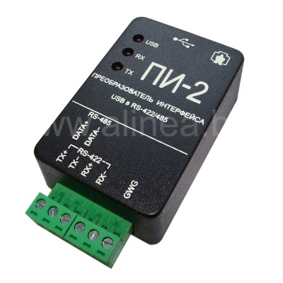 Преобразователь интерфейсов USB-RS485 ПИ-2 (USB/RS-485)