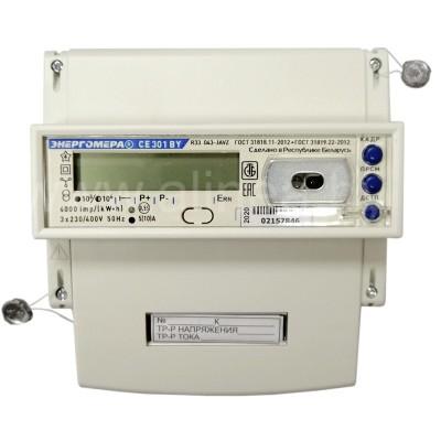 Электросчетчик CE301 BY R33 трехфазный 5(10)А, 400В трансформаторное включение