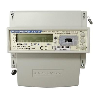 Электросчетчик CE301 BY R33 трехфазный 5(100)А, 400В, прямое включение