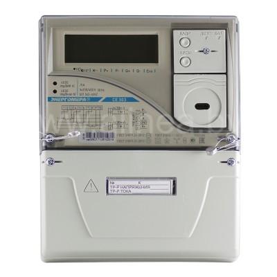 Электросчетчик CE303 S31 трехфазный 5А, 400В, трансформаторное включение, актив/реактив, RS485 (PLC)