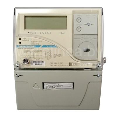 Электросчетчик CE301 S31 трехфазный 5(10)А, 400В, трансформаторное включение, RS485