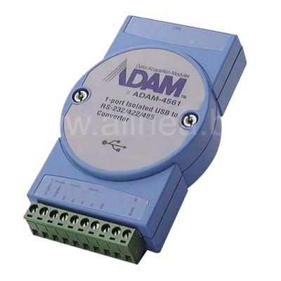 ADAM-4561. Преобразователь (конвертер) интерфейсов USB в RS-232/422/485 с гальванической изоляцией