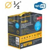 "Комплект Neptun (Нептун) Bugatti ProW+ WiFi 1/2"" (Модуль ProW+ WiFi, 2 крана Bugatti 12В, 2 датчика RSW+, 1 датчик SW005)"