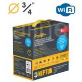 "Комплект Neptun (Нептун) Bugatti ProW+ WiFi 3/4"" (Модуль ProW+ WiFi, 2 крана Bugatti 12В, 2 датчика RSW+, 1 датчик SW005)"